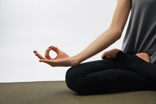 cropped yoga